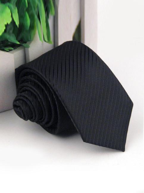 Cà vạt hàn quốc đen cv50 - 1