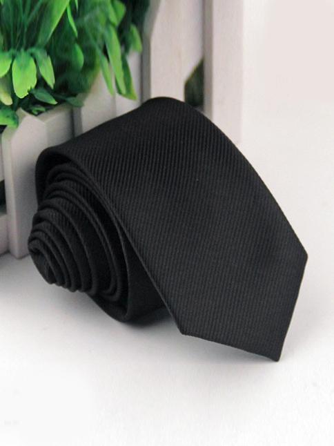 Cà vạt hàn quốc đen cv58 - 1