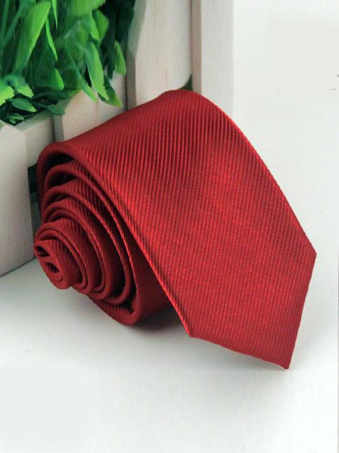 Cà vạt hàn quốc đỏ cv58 - 1