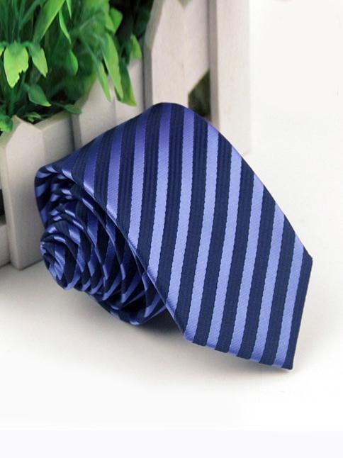 Cà vạt hàn quốc xanh bích cv79 - 1