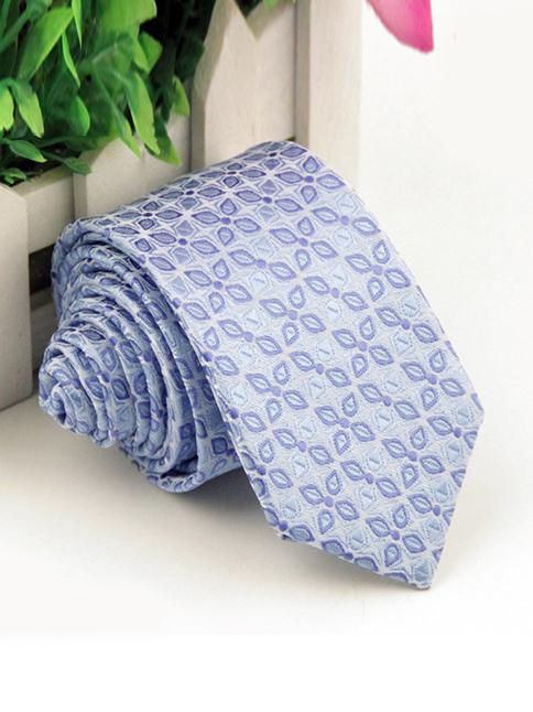 Cà vạt hàn quốc xanh da trời cv81 - 1