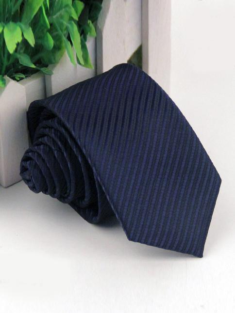 Cà vạt hàn quốc xanh đen cv50 - 1