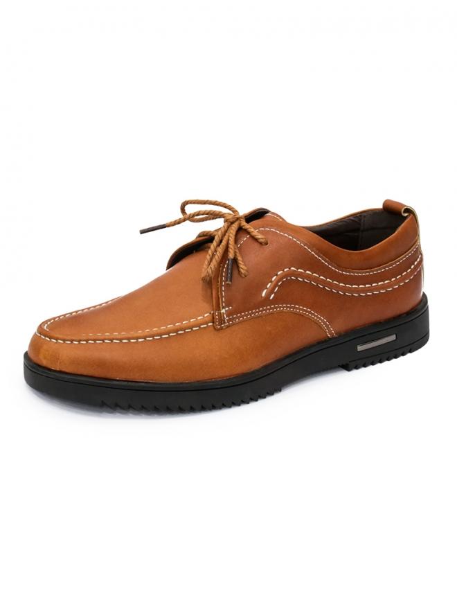 Giày Da Thời Trang Màu Bò G37