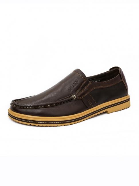 Giày Da Thời Trang Nâu G54