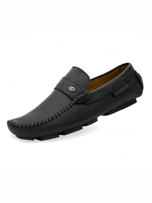 Giày Mọi Da Đen G24