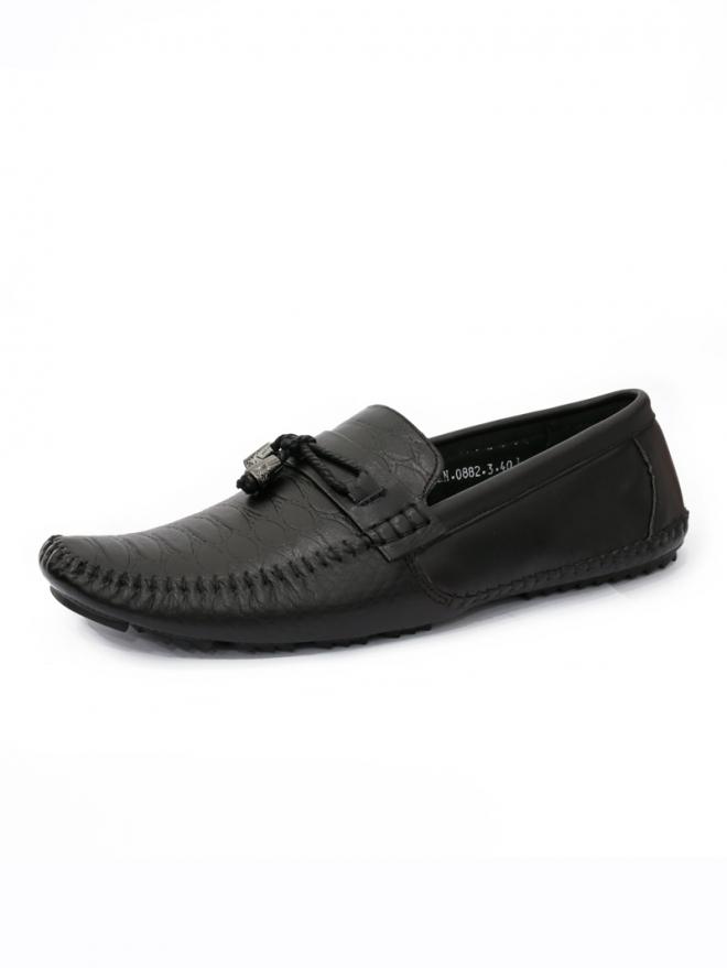 Giày mọi da đen g43 - 1