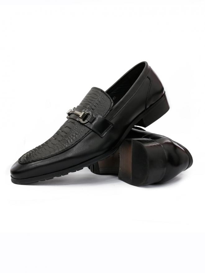 Giày tây da đen g50 - 2