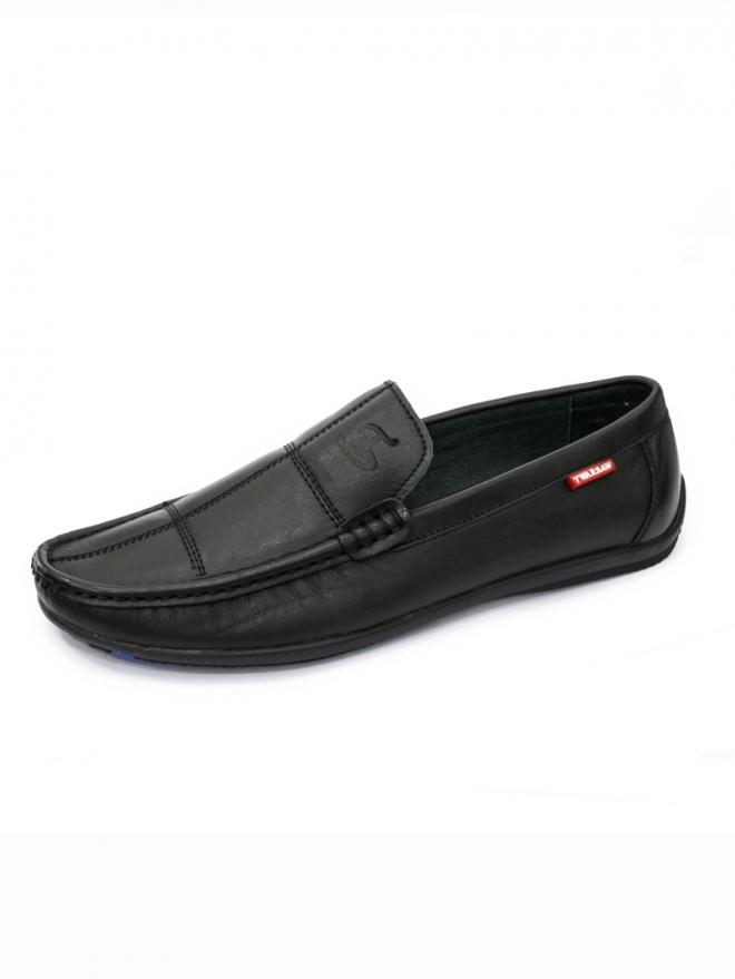 Giày mọi da đen g55 - 1