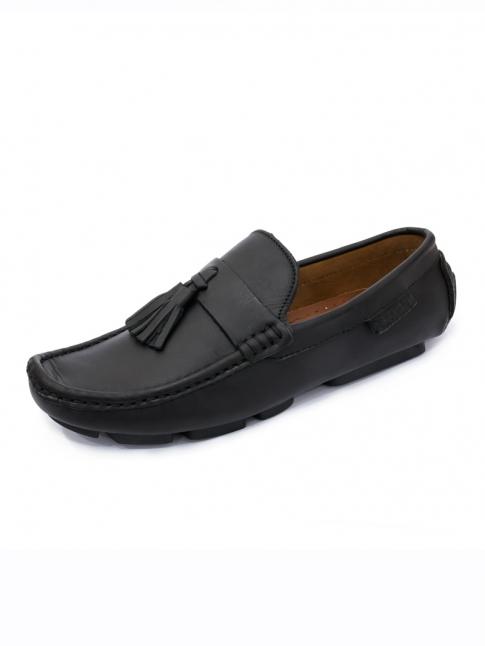 Giày Mọi Da Đen G58