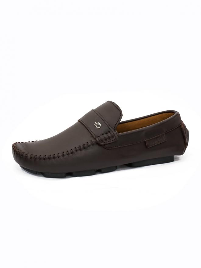 Giày Mọi Da Nâu G24