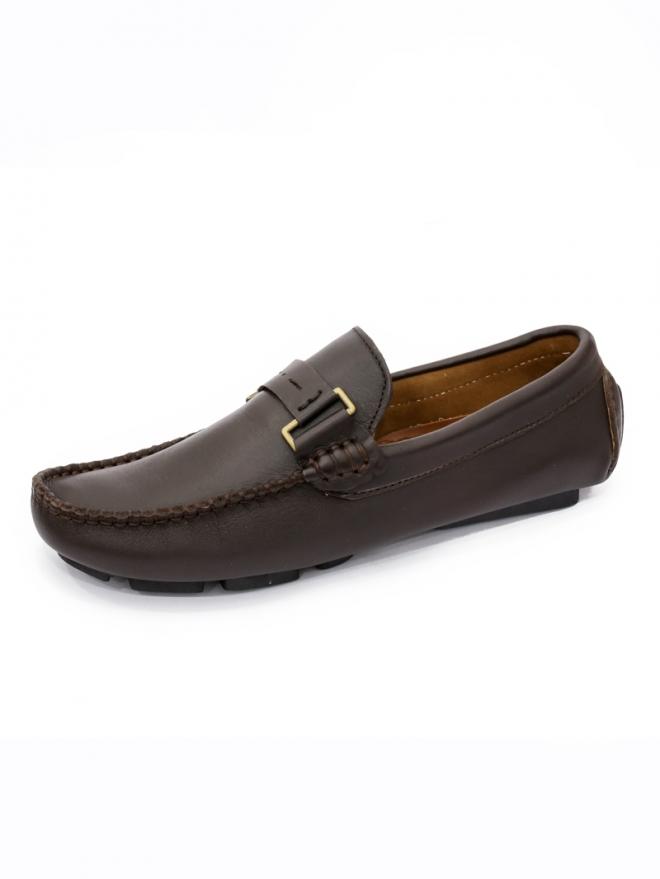 Giày mọi da nâu g28 - 1