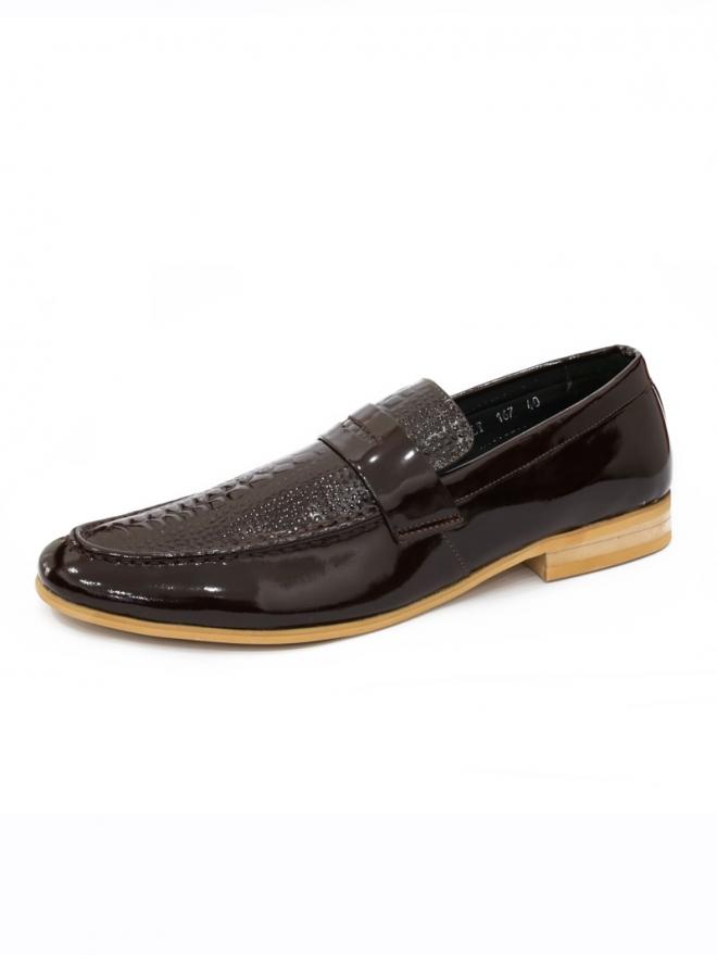Giày mọi da nâu g48 - 1