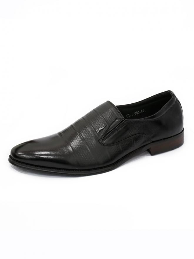 Giày tây da đen g40 - 1