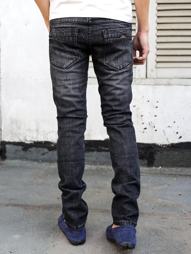 Quần jean skinny xám chuột đậm qj1298 - 2