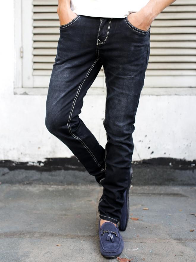 Quần jean skinny đen qj1288 - 1