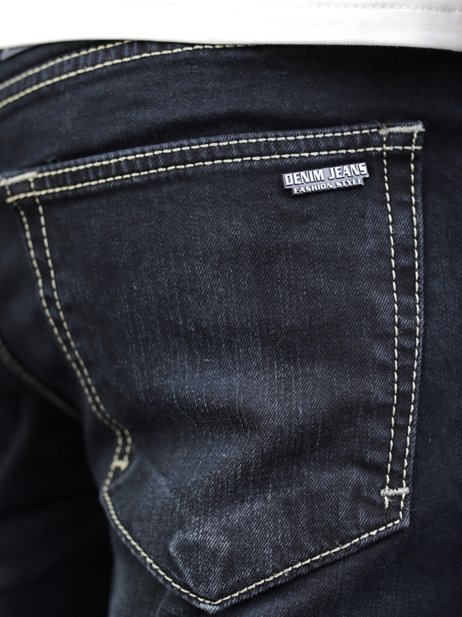 Quần jean skinny đen qj1288 - 2