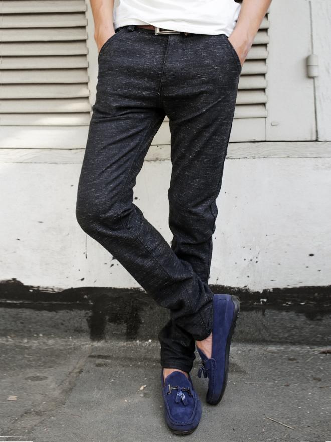 Quần jean skinny đen qj1300 - 1