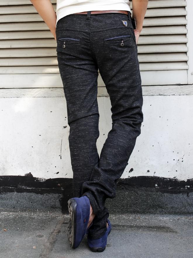 Quần jean skinny đen qj1300 - 2