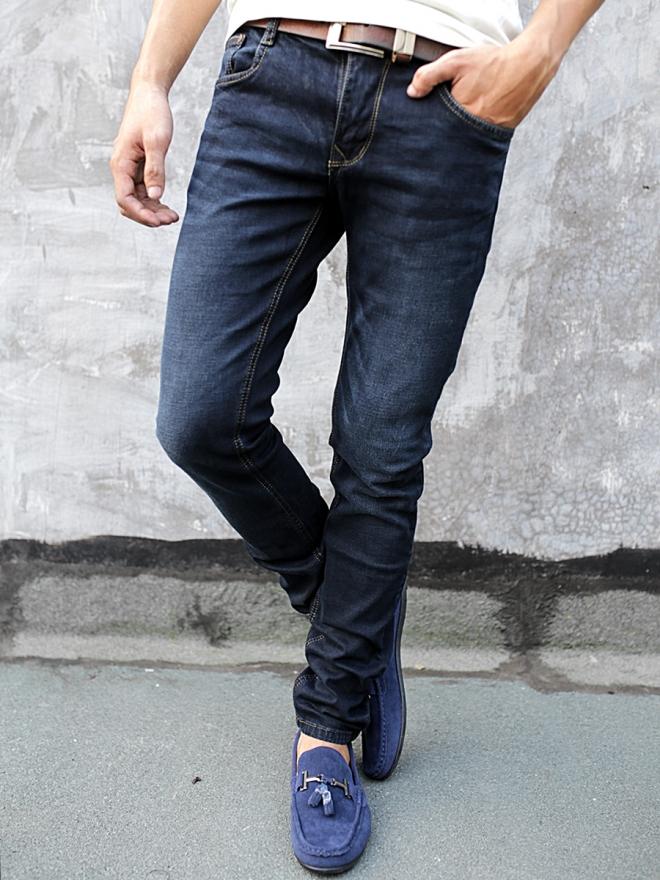 Quần Jean Skinny Xanh Đen QJ1284
