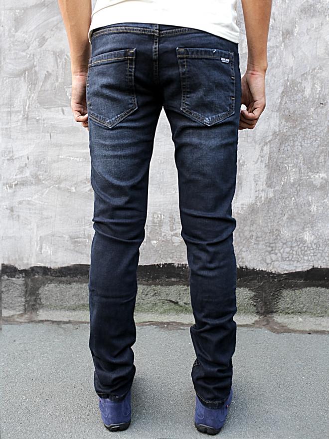 Quần jean skinny xanh đen qj1284 - 2