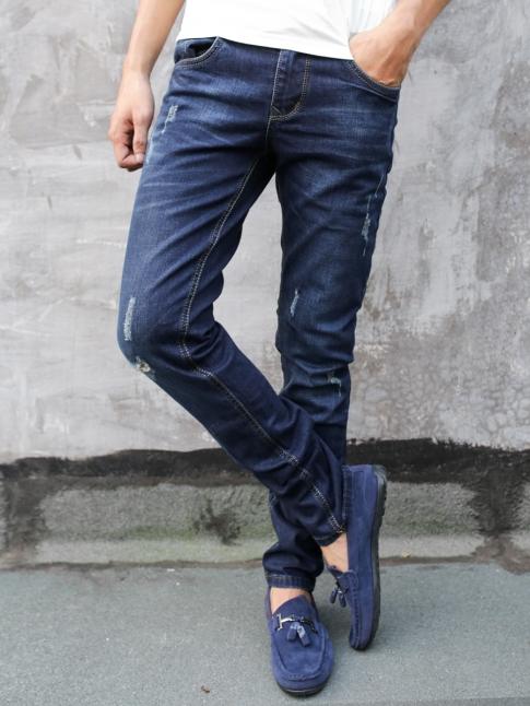 Quần jean skinny xanh đen qj1286 - 1