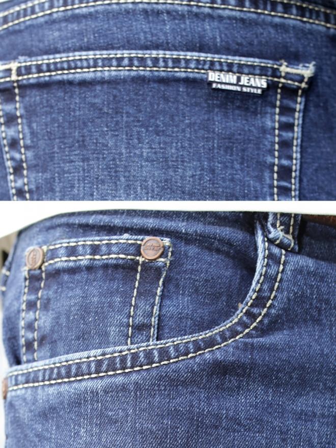 Quần jean skinny xanh đen qj1288 - 2