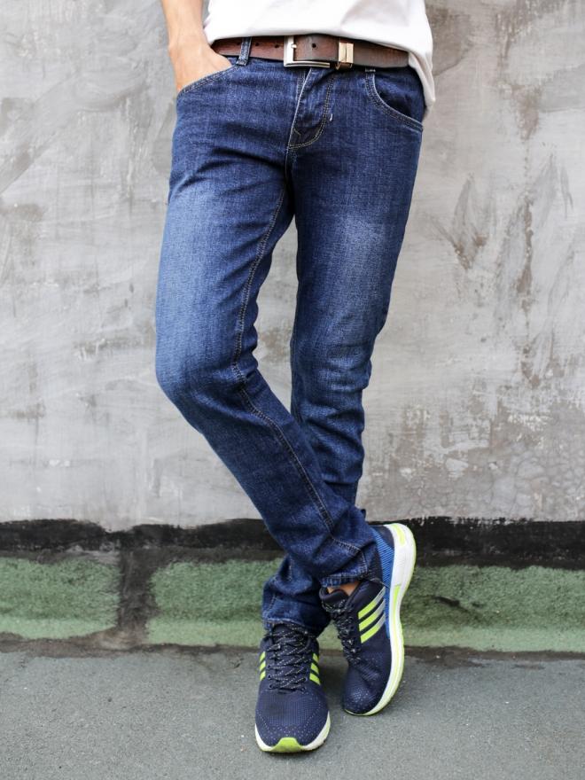 Quần jean skinny xanh đen qj1298 - 1