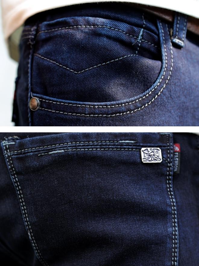 Quần jean skinny xanh đen qj1306 - 3