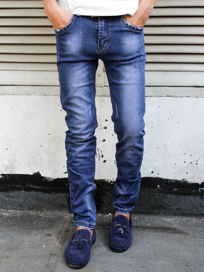 Quần jean skinny xanh đen qj1312 - 1