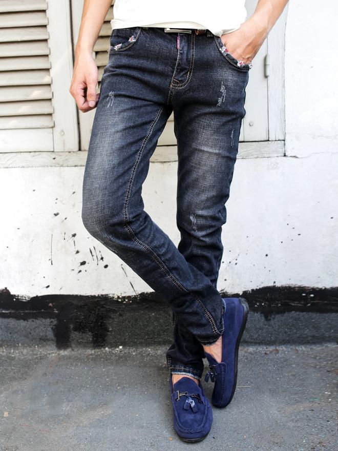 Quần jean skinny xanh đen qj1314 - 1