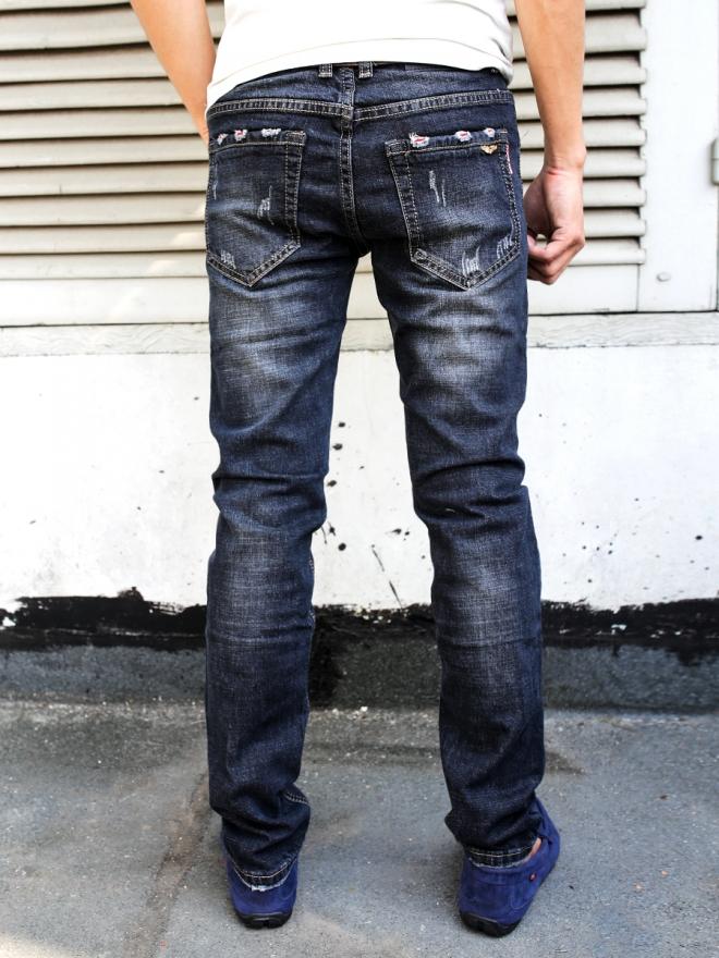 Quần jean skinny xanh đen qj1314 - 2