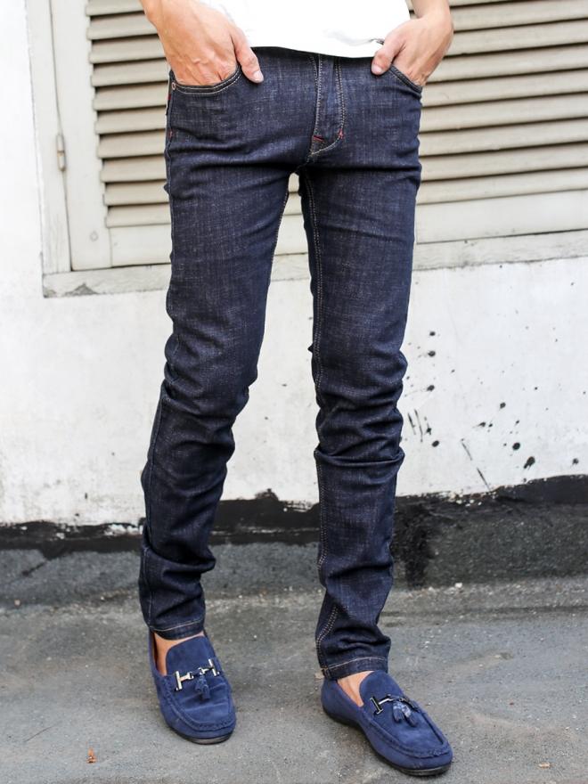 Quần jean skinny xanh đen qj1316 - 1