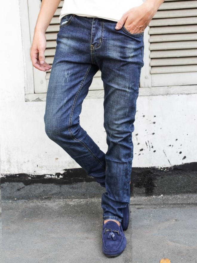 Quần jean skinny xanh đen qj1317 - 1