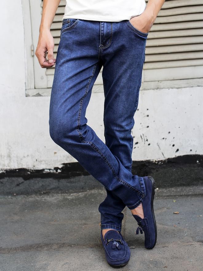 Quần jean skinny xanh đen qj1319 - 1