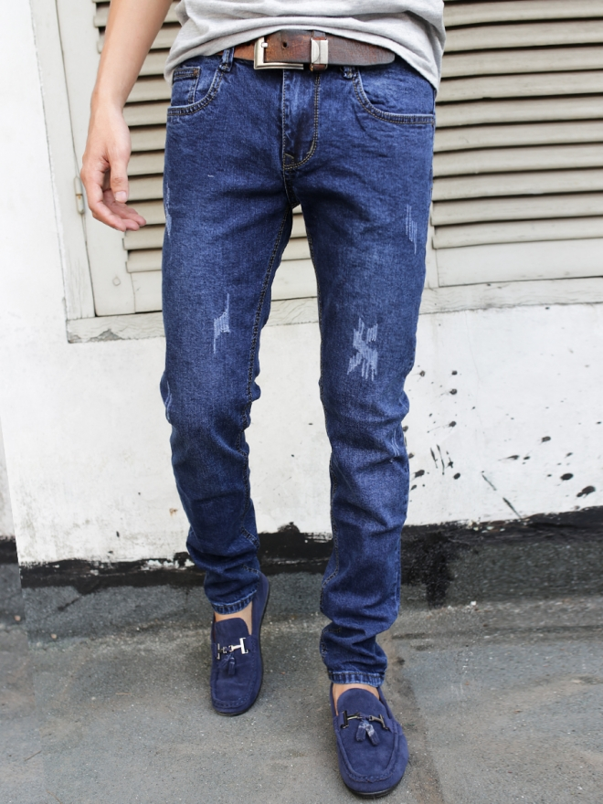 Quần jean skinny xanh đen qj1320 - 1