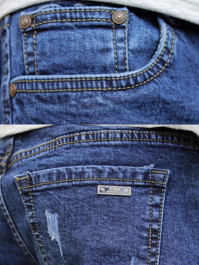 Quần jean skinny xanh đen qj1320 - 2