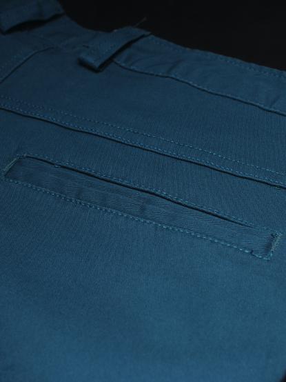 Quần kaki hàn quốc xanh cổ vịt qk144 - 2