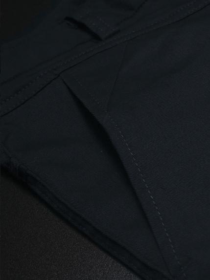 Quần kaki hàn quốc xanh đen qk142 - 2