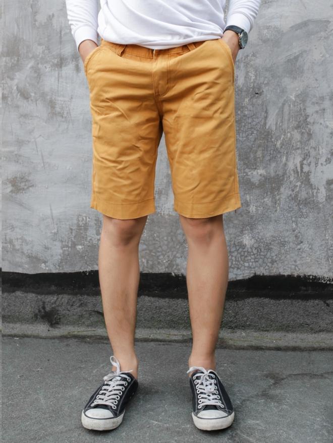 Quần short kaki màu bò qs53 - 1