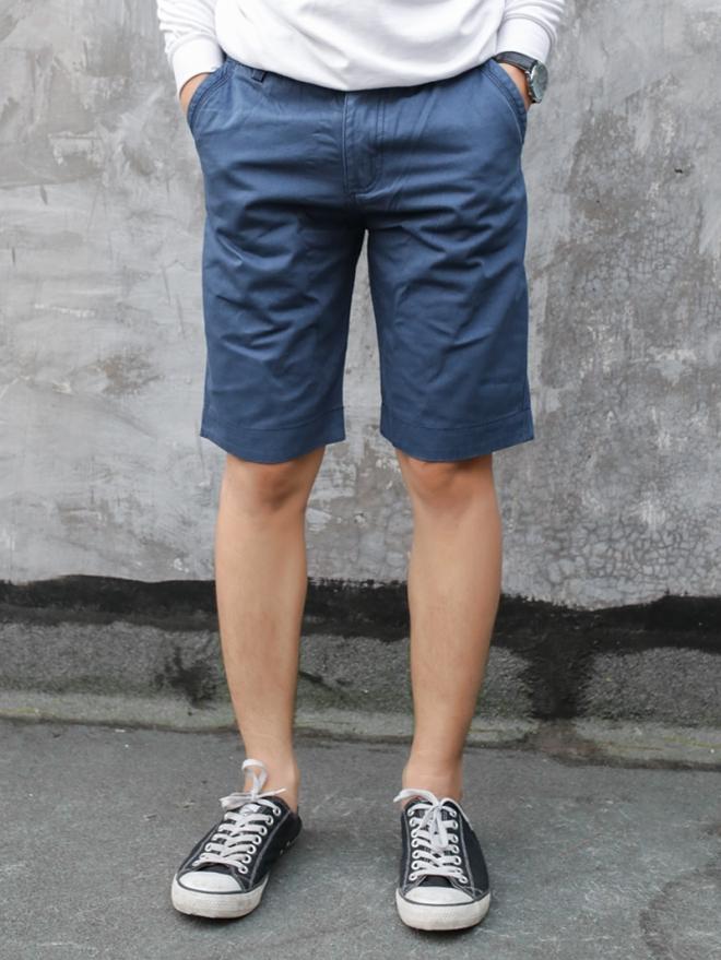 Quần short kaki xanh biển đậm qs53 - 1