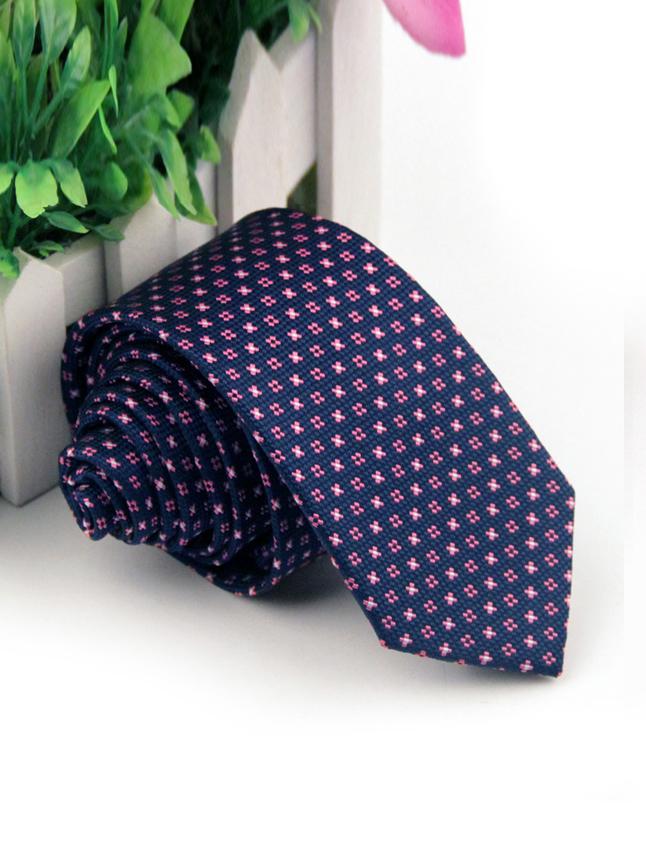 Cà vạt hàn quốc hồng cv60 - 1