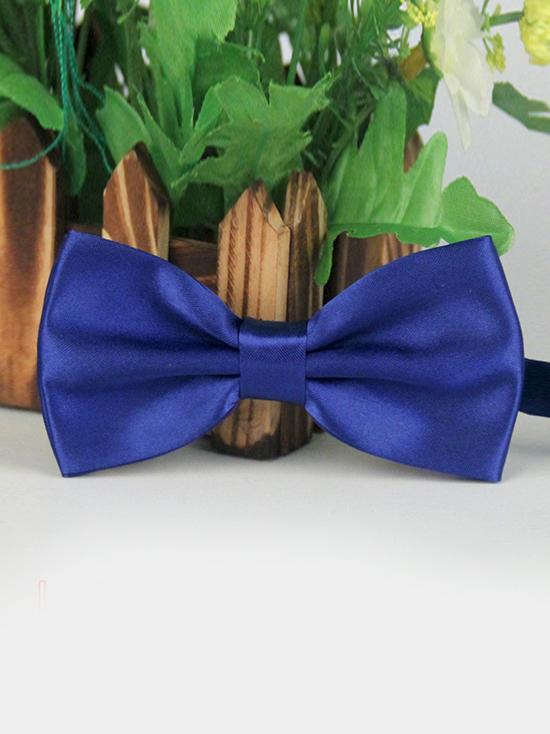 Nơ đeo cổ xanh bích đậm nn87 - 1