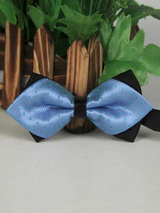 Nơ đeo cổ xanh da trời no65 - 1