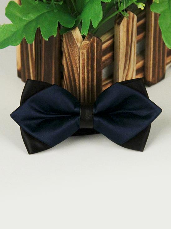 Nơ đeo cổ xanh đen nn88 - 1