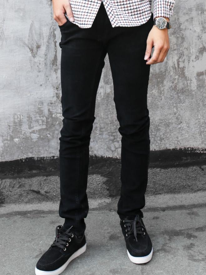 Quần jean skinny đen qj1324 - 1