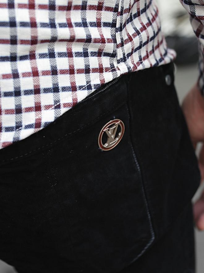 Quần jean skinny đen qj1324 - 2
