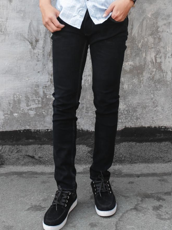 Quần jean skinny đen qj1325 - 1