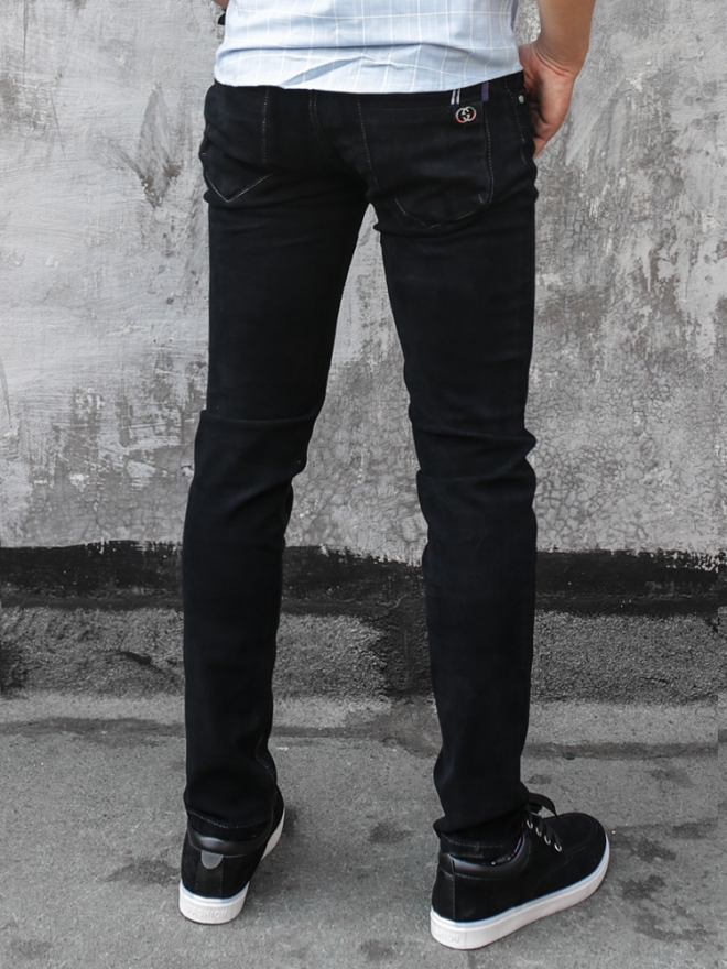 Quần jean skinny đen qj1325 - 3