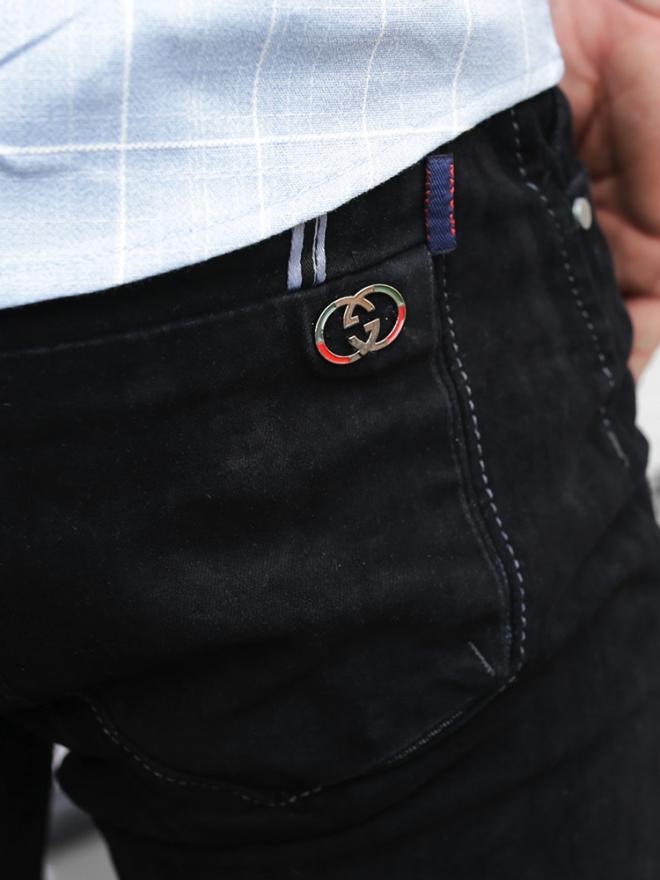 Quần jean skinny đen qj1325 - 2