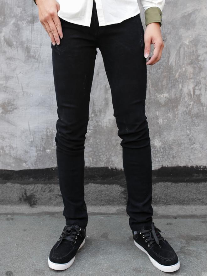 Quần jean skinny đen qj1326 - 1